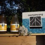 Photo montage bouteilles de sirop Contretemps